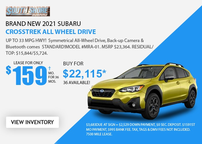 Subaru Crosstrek Deal - April 2021