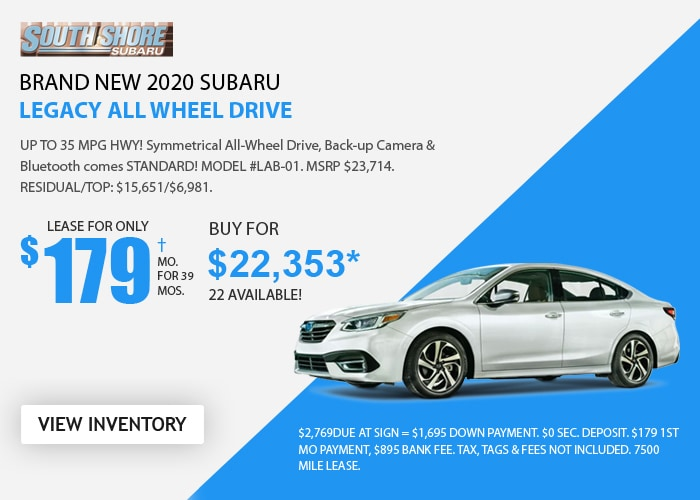 Subaru Legacy - September 2020