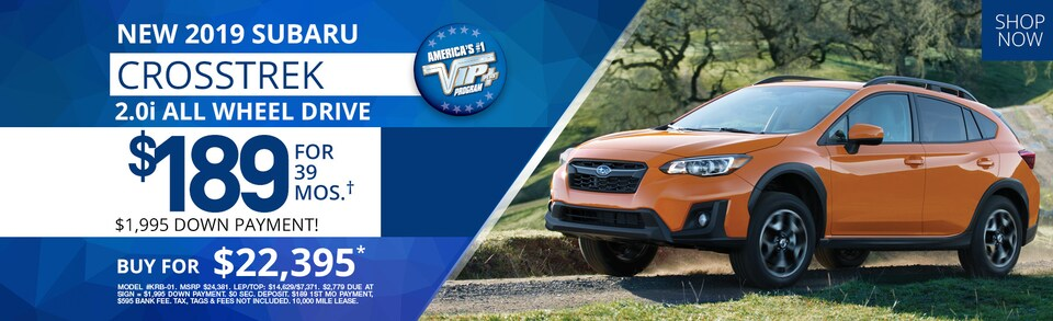 Subaru Crosstrek Lease Deals and Sale