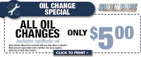 $5 Oil Change