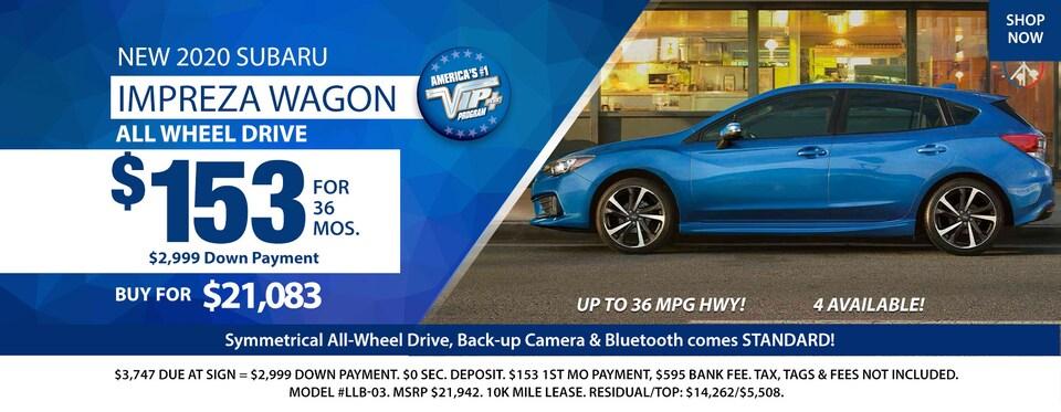 2020 Subaru Impreza Wagon Deals March 2020