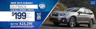 New Subaru Outback lease deals and sale
