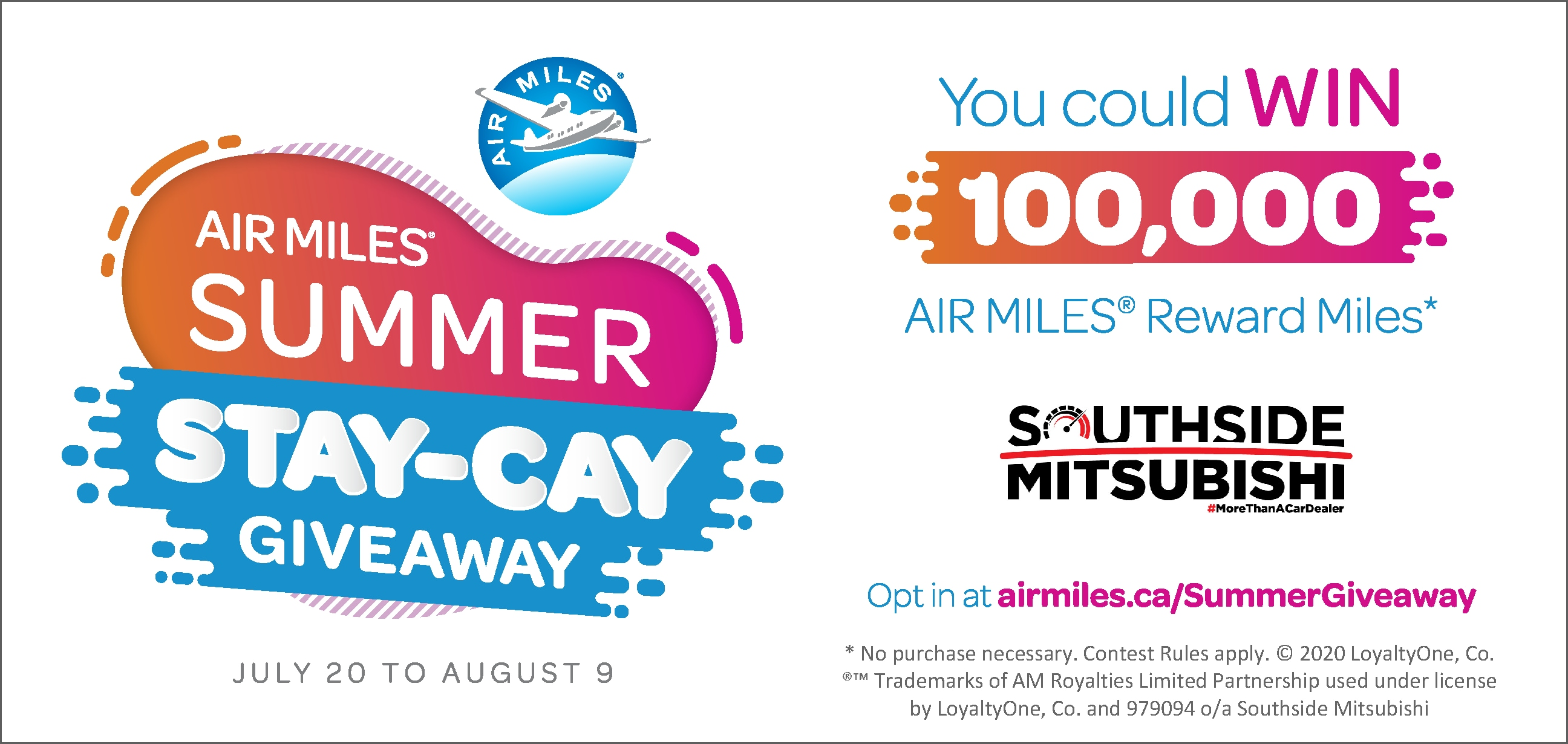 Get AIR MILES Reward Miles - Southside Mitsubishi