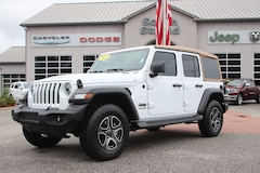 2020 Jeep Wrangler UNLIMITED BLACK AND TAN 4X4 Sport Utility