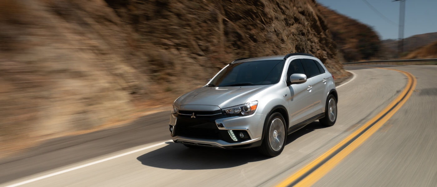 2019 Mitsubishi Outlander Sport driving side exterior view