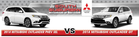 2019 Mitsubishi Outlander Phev Sel Vs Gt Comparison