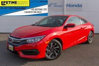 New 2018 Honda Civic Coupe LX-P Tacoma WA