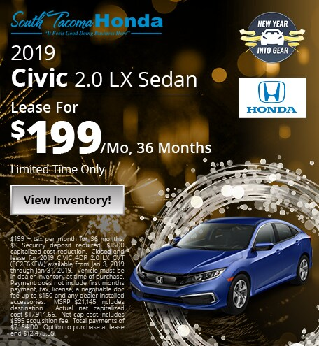 New 2019 Honda Civic