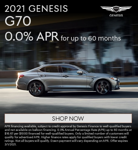 2021 Genesis G70