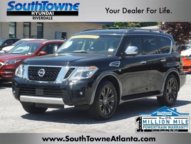 2017 Nissan Armada Configurations >> Used 2017 Nissan Armada For Sale At Southtowne Hyundai Of Riverdale Vin Jn8ay2nd3h9000543