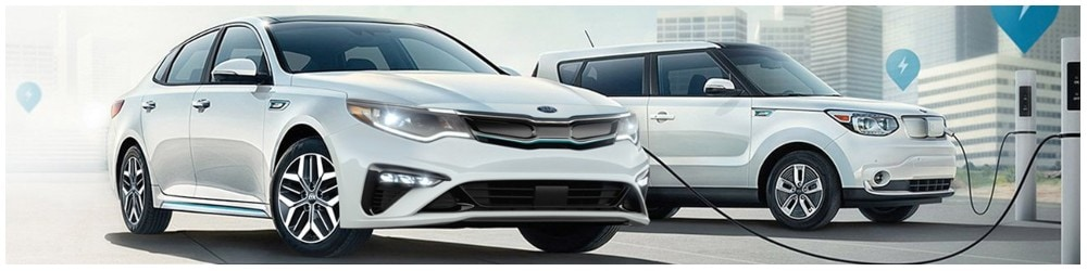 kia hybrid and electric vehicles charging