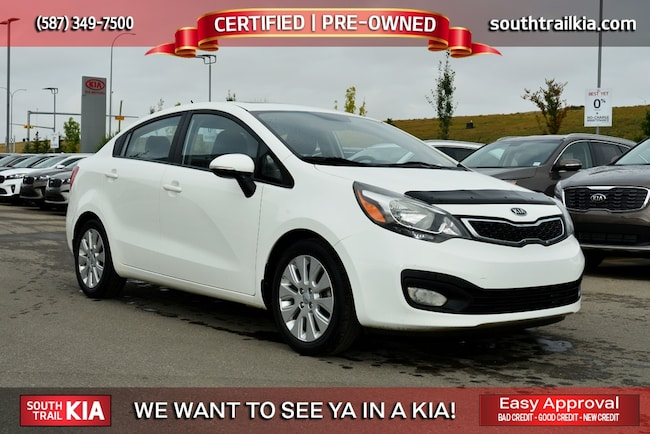 Certified 2013 Kia RIO EX HEATED SEATS, BLUETOOTH, BACK UP CAMERA in Calgary