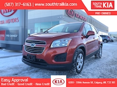 Used 2016 Chevrolet TRAX LS, AUTOMATIC TRANSMISSION in Calgary, AB