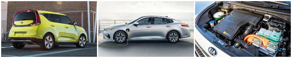kia hybrid and electric vehicles