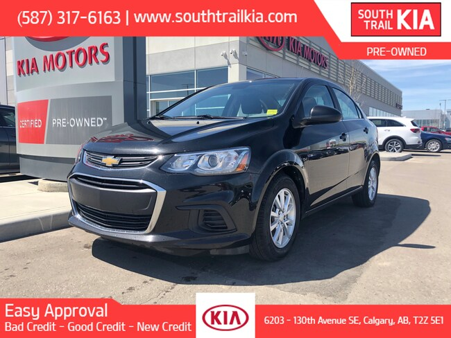 Used 2017 Chevrolet Sonic LT, AUTOMATIC TRANSMISSION, BACK UP CAMERA, A/C in Calgary