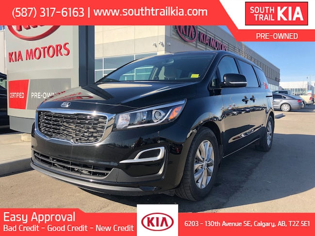 Used 2019 Kia Sedona LX, BLUETOOTH, HEATED SEATS, POWER DRIVER SEAT in Calgary
