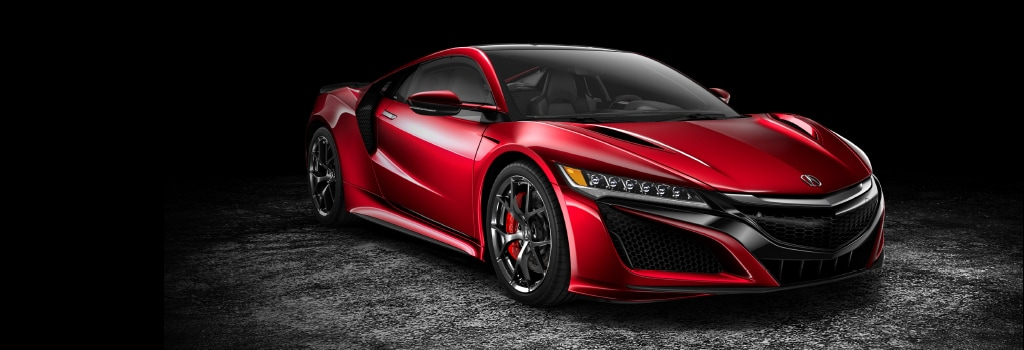 Multi-Material Body - NSX Performance and Design