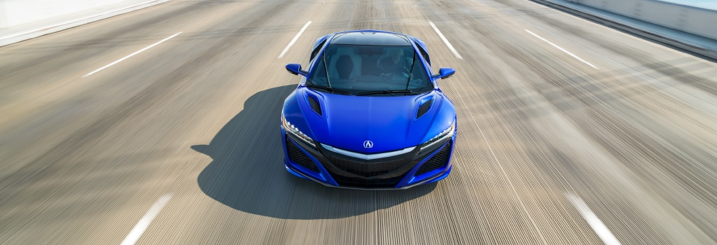 Cool Aerodynamics - NSX on the road