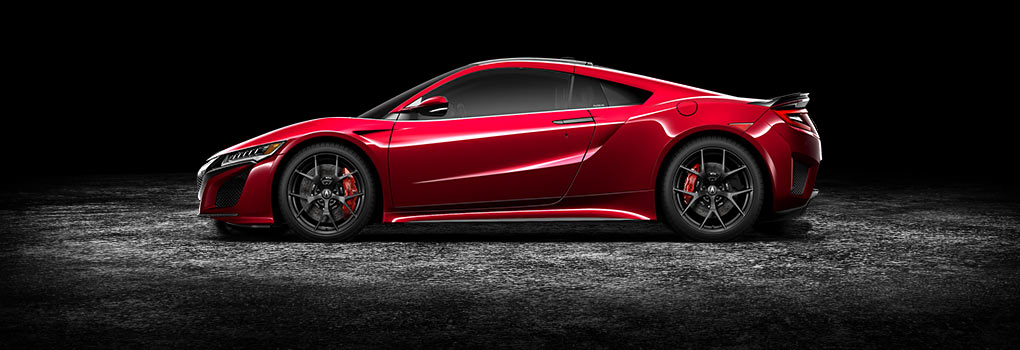Interwoven Design - NSX Exterior
