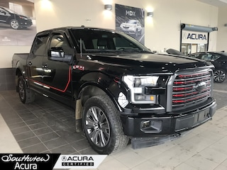 2015 Ford F-150  Lariat SuperCrew Cab, Bluetooth, All Wheel Drive, PU