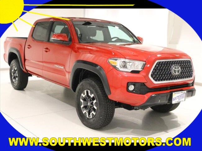 2019 Toyota Tacoma TRD Off-Road Truck Double Cab