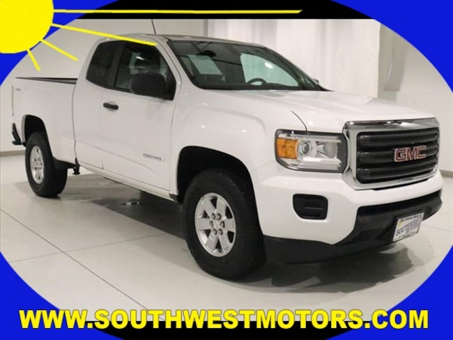 2016 GMC Canyon Base Truck Extended Cab