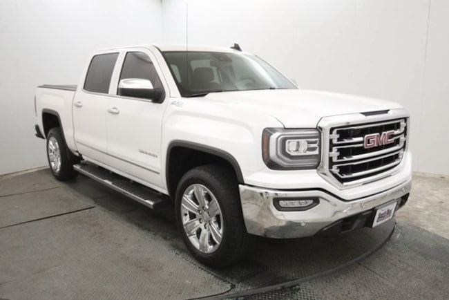 used 2016 GMC Sierra 1500 SLT Truck Crew Cab in weatherford tx