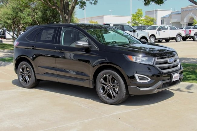 new 2018 Ford Edge SEL SUV in weatherford