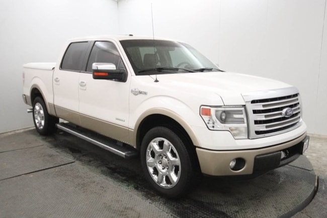 used 2013 Ford F-150 King Ranch Truck SuperCrew Cab in weatherford tx