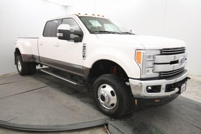 certified used 2017 Ford F-350 Lariat Truck Crew Cab in San Antonio
