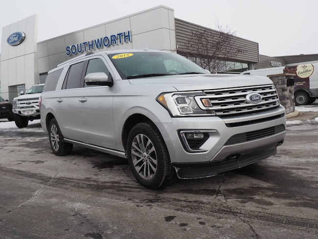 2018 Ford Expedition MAX Limited 4x4 Limited  SUV