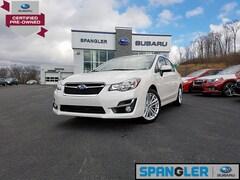 Used 2016 Subaru Impreza 2.0i Premium w/Alloy Wheel Pkg+Moonroof Sedan for Sale in Johnstown, PA