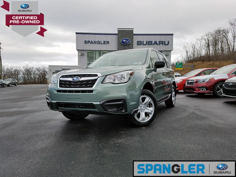 Certified Used 2017 Subaru Forester 2.5i SUV in Johnstown, PA