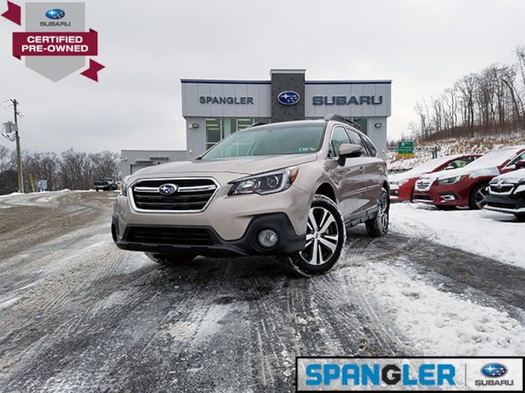 Certified Used 2018 Subaru Outback 2.5i Limited SUV in Johnstown, PA