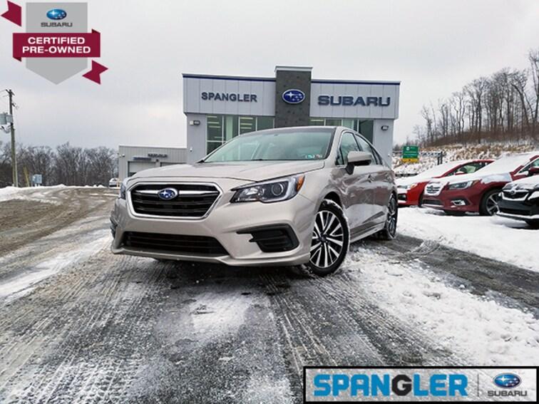 Certified Used 2018 Subaru Legacy 2.5i Premium Sedan in Johnstown, PA