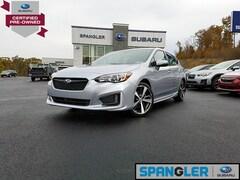 Used 2017 Subaru Impreza 2.0i Sport w/Eyesight+Moonroof+BSD/RCTA+Harmon/kar Hatchback for Sale in Johnstown, PA