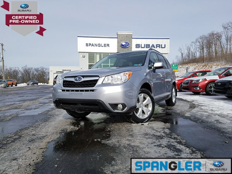 Certified Used 2016 Subaru Forester 2.5i Limited SUV in Johnstown, PA