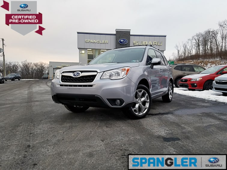 Certified Used 2016 Subaru Forester 2.5i Touring w/Eyesight+Navi SUV in Johnstown, PA