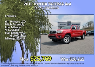 Used 2015 Toyota Tacoma 4x4 Special