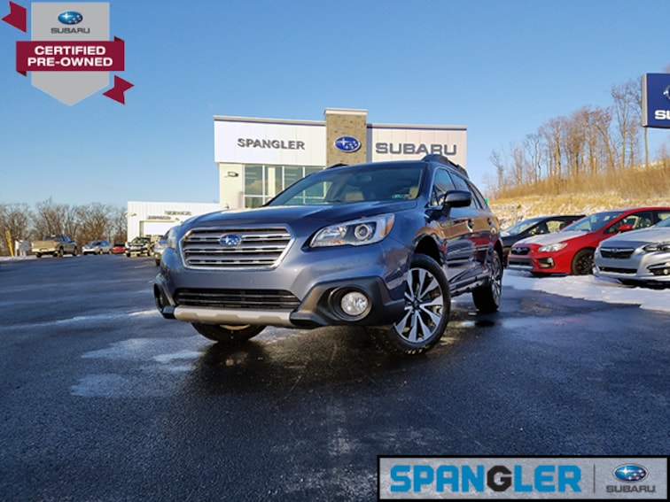 Certified Used 2017 Subaru Outback 2.5i Limited SUV in Johnstown, PA