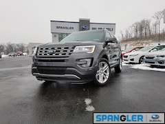 Used 2016 Ford Explorer Limited SUV for Sale in Johnstown, PA