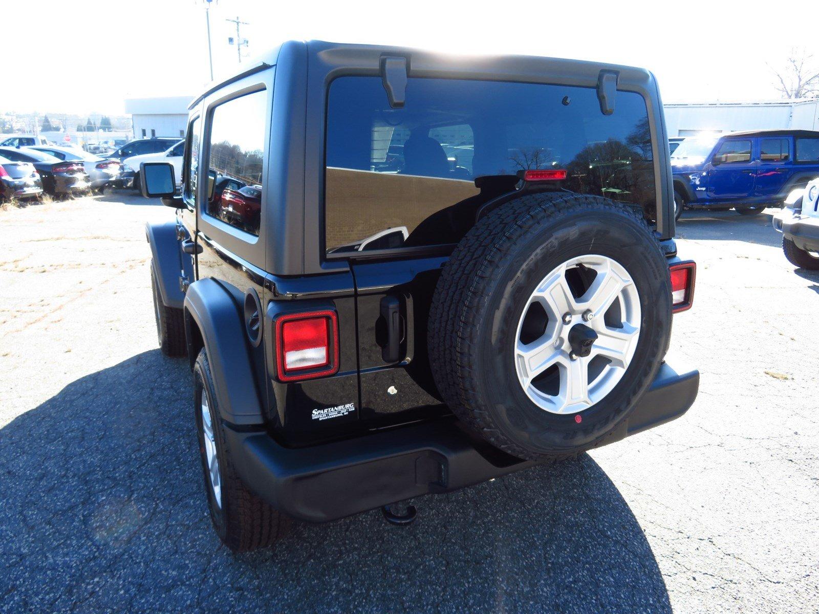 New 2019 Jeep Wrangler SPORT S 4X4 For Sale | Spartanburg SC