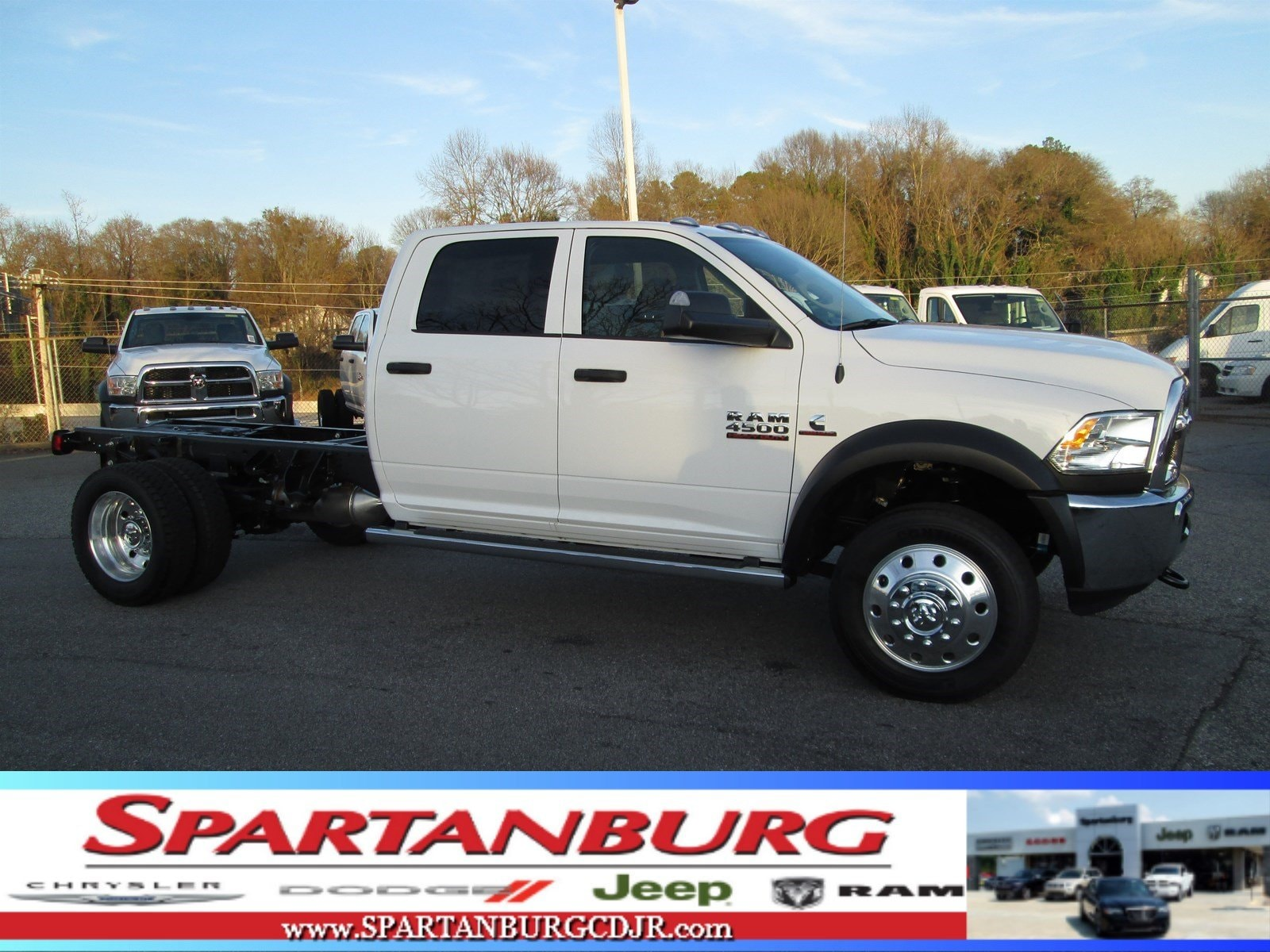 New 2018 Ram 4500 TRADESMAN CHASSIS CREW CAB 4X4 173 4 WB For Sale