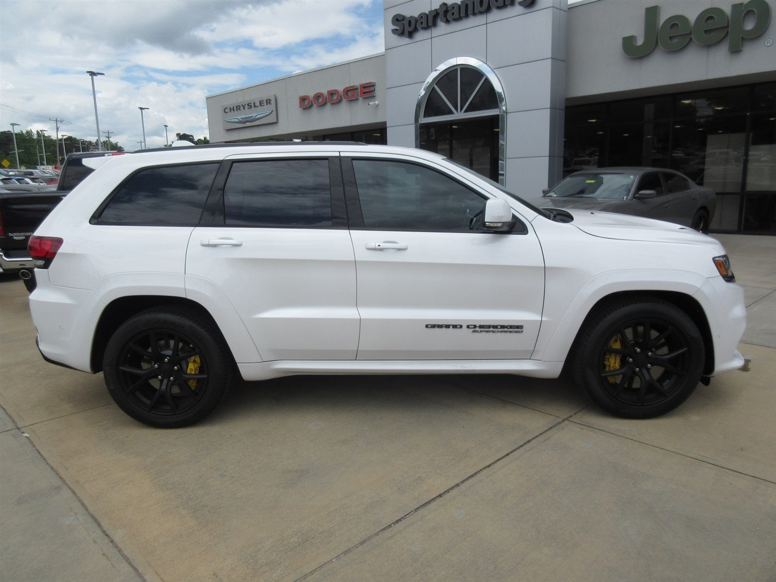 New 2018 Jeep Grand Cherokee TRACKHAWK 4X4 For Sale   Spartanburg SC