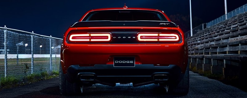 2018 Dodge Challenger SRT Demon Rear