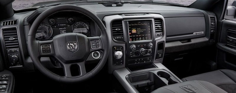 2017 Ram 1500 Rebel Interior