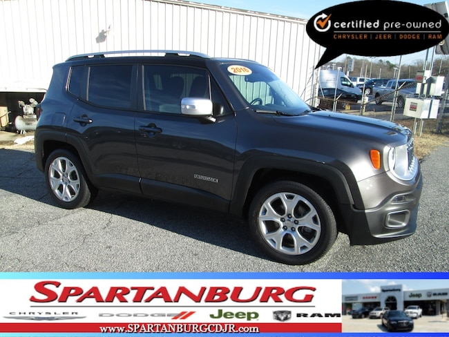 2016 Jeep Renegade Limited SUV