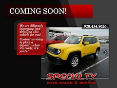 Used 2015 Jeep Renegade Latitude 4x4 SUV for sale in Green Bay