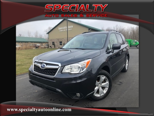 Used 2014 Subaru Forester 2.5i Limited SUV Green Bay