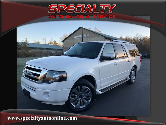 Used 2013 Ford Expedition EL Limited 4x4 SUV Green Bay